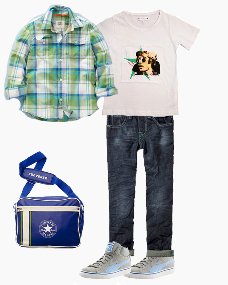 Un look streetwear : mode enfant printemps 2012